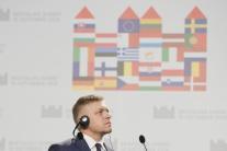 Tlačová konferencia po summite v Bratislave