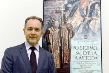 Pavol Demeš má na hrade výstavu o živote sv. Cyrila a Metoda e8537bd6ca1