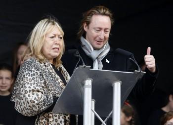 Spevák Julian Lennon, syn slávneho
