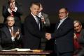 Prezident Santos nazval udelenie Nobelovej ceny darom z neba