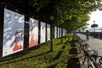 Odkaz Václava Havla pripomína tvorba mladých grafikov