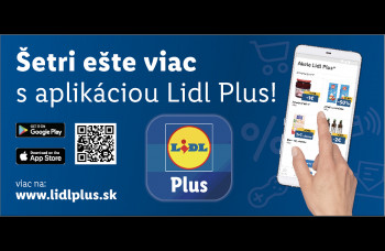 Lidl Plus: Nová aplikácia plná výhod