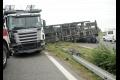 Cesta z Bánoviec nad Bebravou do Prievidze je pre nehodu uzavretá
