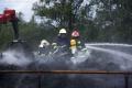 Požiar skládky dreva v Martine zlikvidovali hasiči za päť a pol hodiny