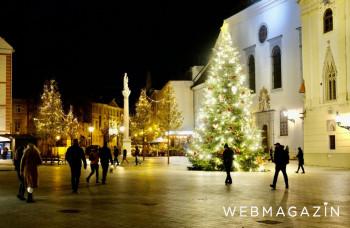 Bratislava rozšírila a vynovila vianočnú výzdobu