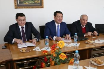 Prijatie veľvyslanca Kazachstanu na EU v Bratislave