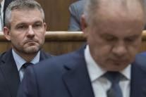 Prezident Kiska správa parlament NRSR poslanci