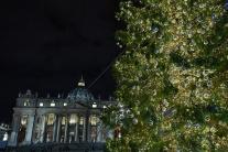 Vianočná atsmosféra vo Vatikáne