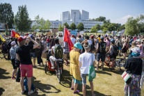 Summit Trump-Putin sprevádzajú aj protesty