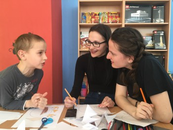 Maturanti podporili deti z Klubu nadaných detí Prešov