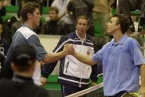 Marat Safin a Dominik Hrbatý (vpravo)
