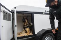 Policajný zbor získal vozíky pre psov a dva na pre