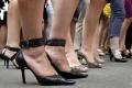 Behom na vysokých podpätkoch odsúdili Nitrania násilie na ženách