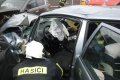 Hasiči zasahujú pri nehode piatich áut na diaľnici v Bratislave