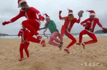 Vianoce v plnom prúde: Od omše až k Santovi na vlnách