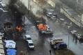 TERORIZMUS: Pri výbuchu nálože v luxusnom aute zahynul v Kyjeve vojak