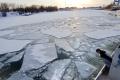 Ľad na Dunaji skomplikoval aj dopravu medzi Bulharskom a Rumunskom