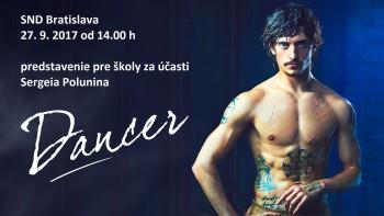 Legendárny tanečník Sergej Polunin bude na premietaní filmu Dancer
