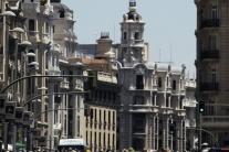 Nahí cyklisti v Madride