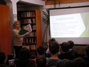 Návšteva Regionálnej knižnice v Kráľovskom Chlmci