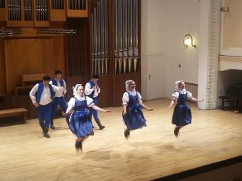 Trojgeneračný koncert folklórnych súborov zo Žiliny