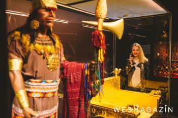 Do Bratislavy priviezli vzácne korunovačné klenoty Inkov