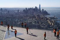 Vyhliadková plošina v New Yorku