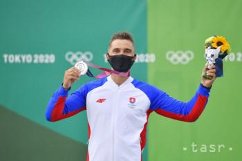 Na snímke slovenský reprezentant vo vodnom slalome Jakub Grigar získal striebornú medailu vo finálovej jazde kategórie K1 počas XXXII. letných olympijských hier v Tokiu, 30. júla 2021.