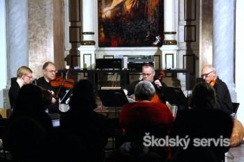 Hudobníci Trnavského kvarteta podporili charitatívnu akciu