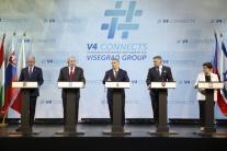 V4 poverila Fica,aby rokoval s Junckerom o rozdielnej kvalite potravín