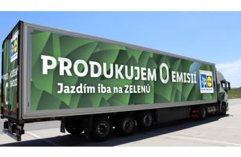 LIDL má v portfóliu už 15% ekologických kamiónov