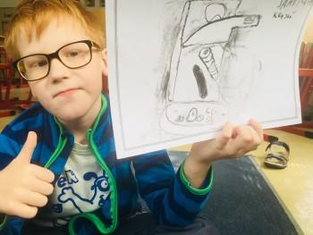 Malí umelci objavili kresbou budúcnosť