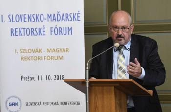 Prešov: Slovenskí a maďarskí rektori chcú zefektívniť spoluprácu