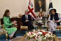 Britský kráľovský pár na návšteve Pakistanu