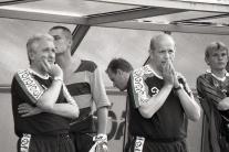 Karol Pecze (vľavo)