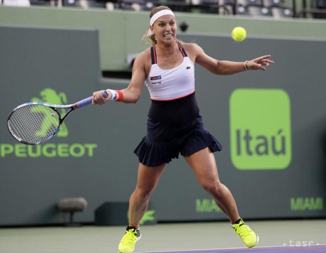 Cibulková si na turnaji WTA bez problémov poradila s Flipkensovou