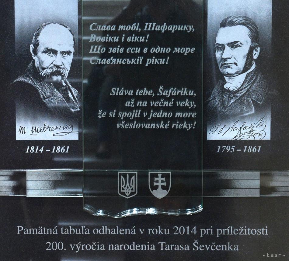 ... Šafárika pri príležitosti 200. výročia narodenia Tarasa Ševčenka 28.  mája 2014 v priestoroch budovy ARISTOTELES Filozofickej fakulty UPJŠ v  Košiciach. e72788f36fe