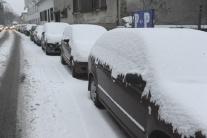 Sneh v Bratislave