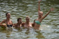 Voda v prírodnej nádrži v areáli Delňa v Prešove je vhodná na kúpanie