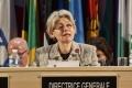 Na čele medzinárodnej organizácie UNESCO stojí Irina Bokovová