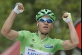 Sagan chce vyhrať etapu na TdF a zabojuje o piaty zelený dres v rade