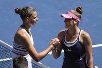 US Open, ženská dvojhra, Plíšková, Martincová