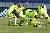 SR futbal FL 28. kolo Slovan Bratislava Žilina BAX