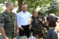 Študenti z detskej univerzity navštívili vojenské letisko v Kuchyni
