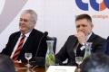 Prezident Zeman kritizoval ČSSD, Smer považuje za ľavicový