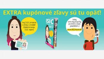 Majitelia preukazov ISIC môžu okrem zliav využiť aj špeciálne kupóny