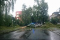 FOTO: Po silnej búrke vyhlásili v Prešove mimoriadnu situáciu