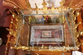 Relikvia sv. Cyrila putuje po Slovensku