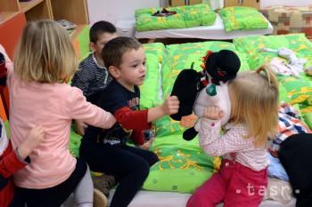 Inštitút zamestnanosti chce v MŠ miesto pre každé dieťa od 4 rokov