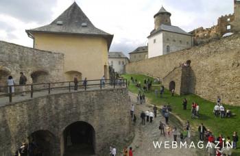 Hrad Ľubovňa cez leto zaznamenal 40-percentný nárast návštevníkov